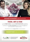 Locandina Food Art and Star
