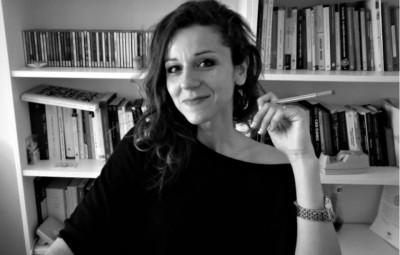 La scrittrice Anna Pavone