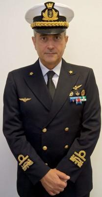 Sergio Liardo, contrammiraglio Guardia Costiera