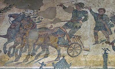 Alcuni mosaici di Villa del Casale