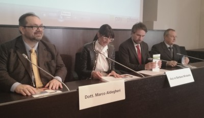 Da sinistra Aldegheri, Mirabella, Blasi, Garufo