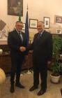 Belpasso, il sindaco Motta e il prefetto Sammartino