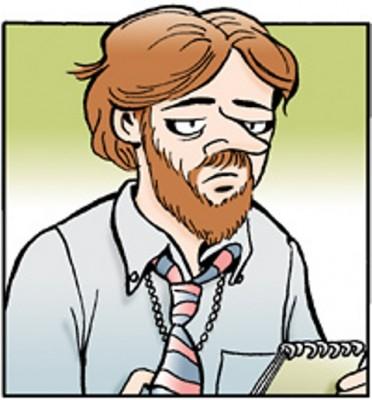 Rick Redfern (1976), è uno giornalisti fumetto che hanno segnato il clima corale di Doonesbury. Il personaggio (ispirato a Bob Woodward) è apparso a lungo come bravo e serio giornalista investigativo per il Washington Post, dal quale venne licenziato nel 2008, in piena crisi
