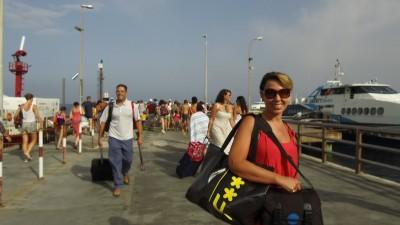 Arrivo a Stromboli