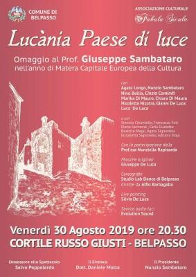 Belpasso, Lucania paese di luce