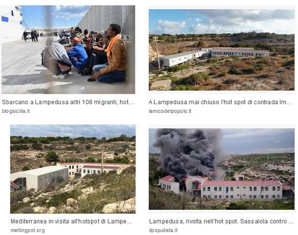 Hot Spot Lampedusa