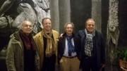 Da sinistra Andrea Tidona Salvatore Bonajuto Ezio Dinato Orazio Torrisi