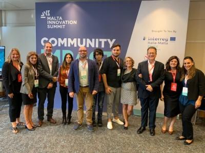 delegazione di Enisie al Malta innovation Summit dello scorso ottobre
