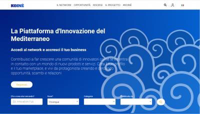 home page piattaforma