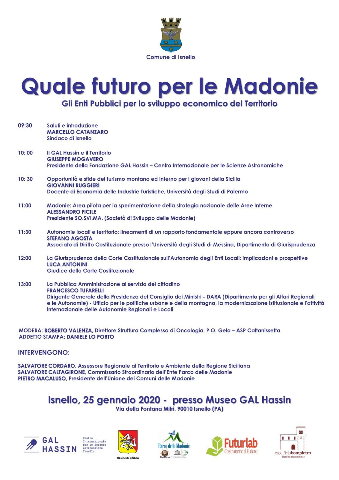 locandina Quale futuro per le Madonie