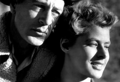 Ingrid Bergman e Gary Cooper, regia Sam Wood nel film Per chi suona la campana
