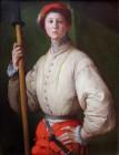 Jacopo Pontormo, Halberdier (Anni 30 XVI sec.)