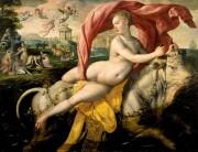 Martín de Vos. Amberes (1532-1603). Il rapimento di Europa, 1590 circa, olio su rovere, 133,7 x 174,5. Museo delle Belle Arti di Bilbao