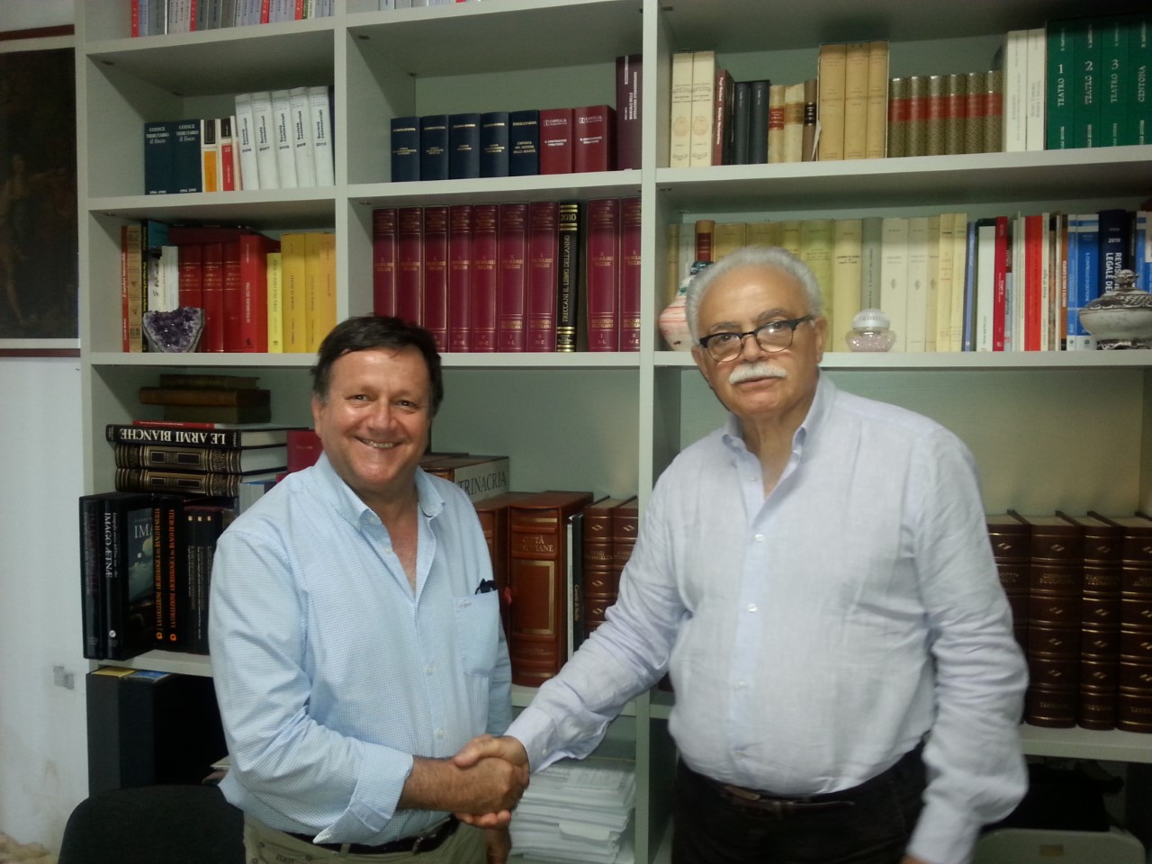 Confimprese Unicos Flavio Cantarero e Giovanni Mirulla