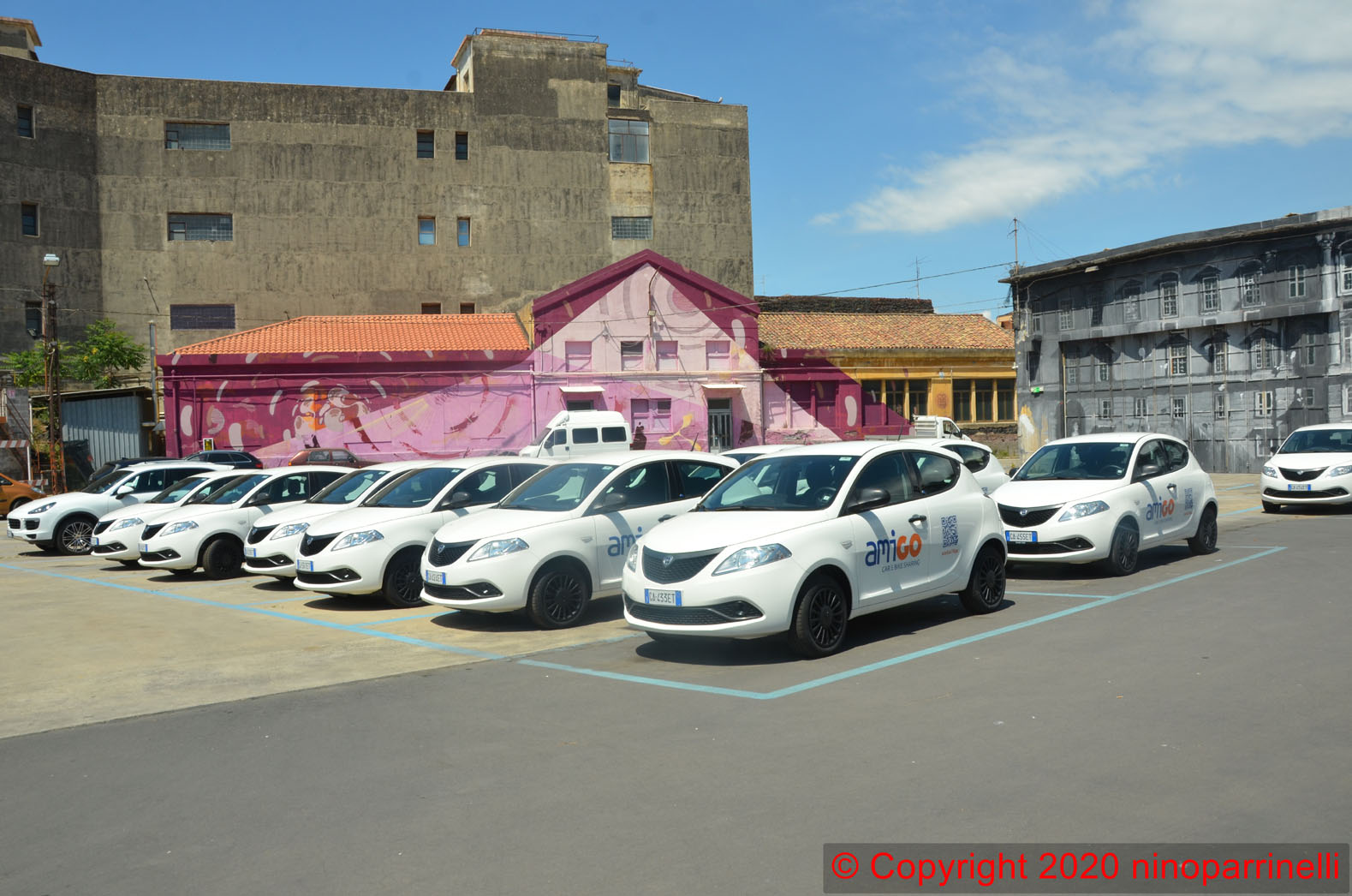 Il parco car sharing Amt