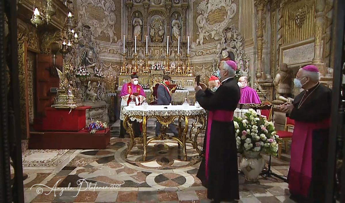 L'Arcivescovo e il sindaco di Catania