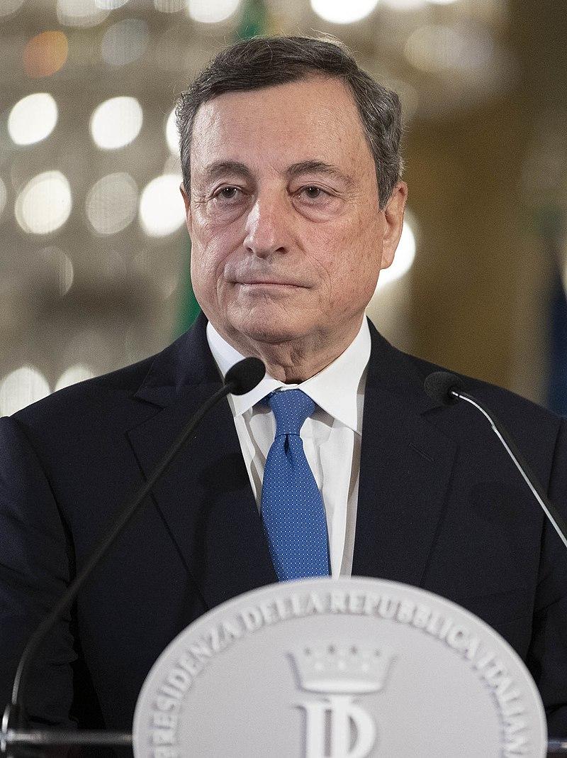 Dichiarazione del Prof Mario Draghi al termine del colloqui con il Presidente Sergio Mattarella,al Quirinale.(foto di Francesco Ammendola - Ufficio per la Stampa e la Comunicazione della Presidenza della Repubblica)