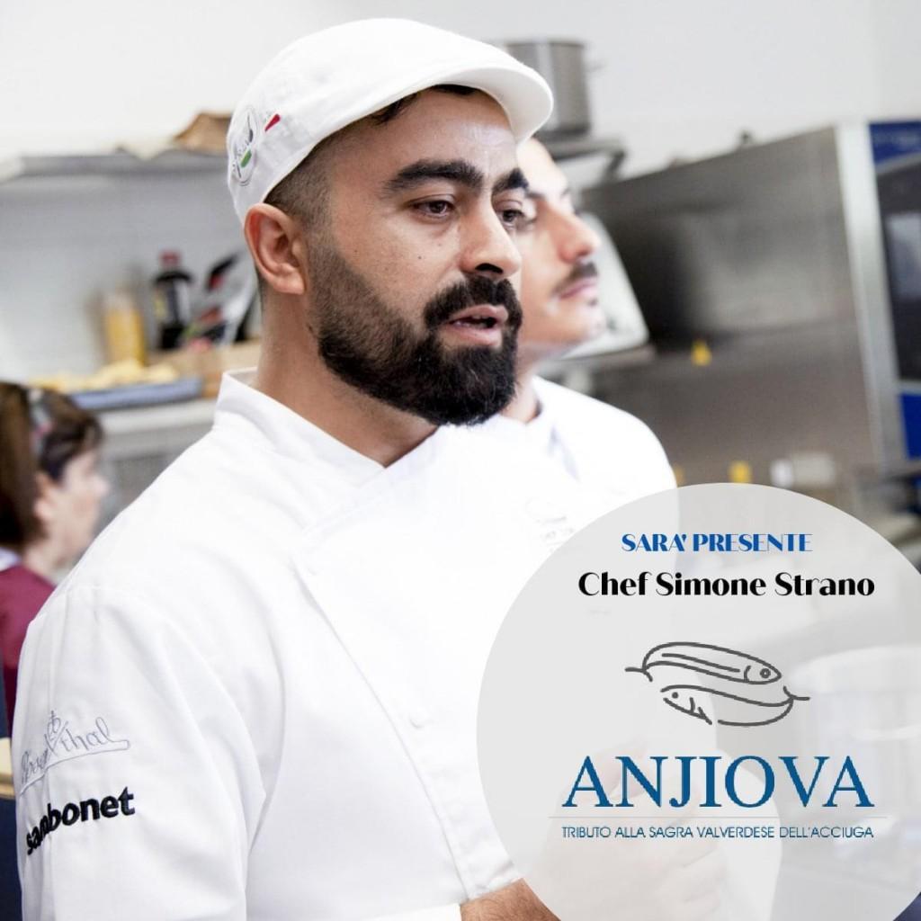 chef Simone Strano