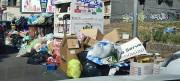 Catania invasa dalla spazzatura, largo Bordighera