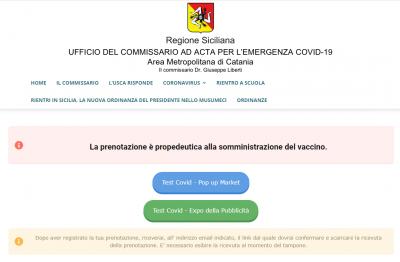 sito commissario